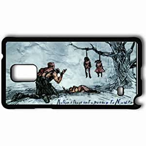Personalized Samsung Note 4 Cell phone Case/Cover Skin 13 Ghosts Black hjbrhga1544