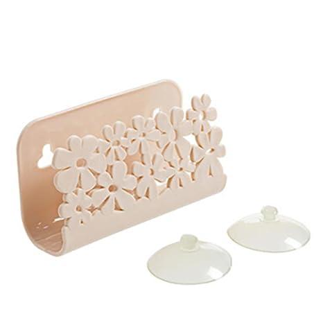 Amazon.com: Fregadero Caddy Soporte para esponja jabón ...