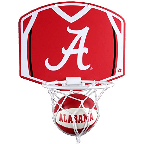Alabama Crimson Tide Mini Basketball and Hoop Set