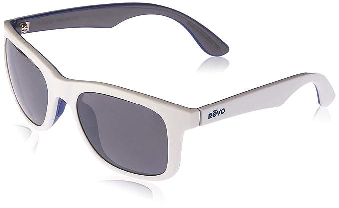02810b73b Amazon.com: Revo Huddie RE 1000 09 GY Polarized Wayfarer Sunglasses ...