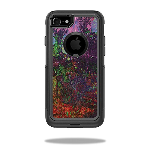MightySkins Skin Compatible with OtterBox Commuter iPhone 8 - Paint Drip   Protective, Durable, and Unique Vinyl Decal wrap Cover   Easy to Apply, Remove, and Change Styles   Made in The USA