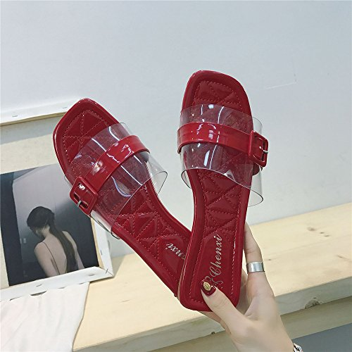 Sandals Slippers Walking Support Wheeler House Women Home Shoes Shower Slide Casual Red Beach Queena for qTwOaFXtq