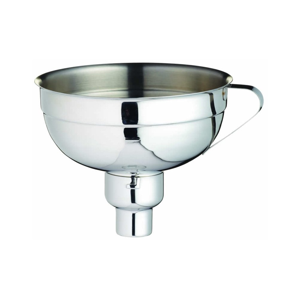 Home Made Adjustable Stainless Steel Jam Funnel