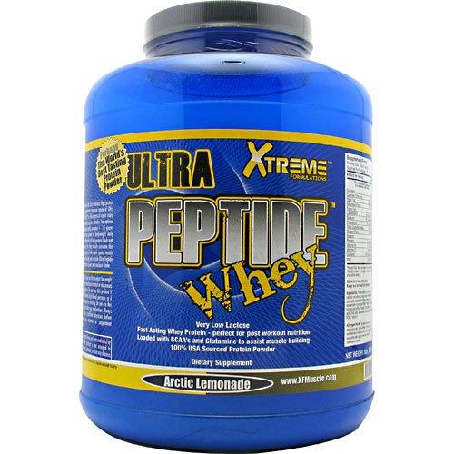 Xtreme Formulations Ultra Peptide Whey WPI/WPC/WPH, Arctic Lemonade, 5 Pounds