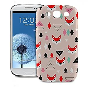 Phone Case For Samsung Galaxy S3 - Fox Geometric Winter Snap-On Back