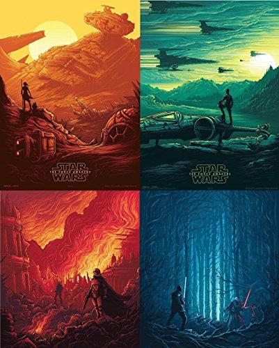 star-wars-the-force-awakens-set-of-4-original-promo-movie-poster-95x13-imax-2015-amc