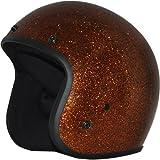 Daytona Metal Flake D.O.T. Approved 3/4 Shell Cruiser Motorcycle Helmet - Root Beer / 2X-Large by Daytona Helmets