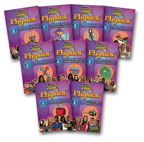 Standard Deviants School - Physics Super Pack, Programs 1-9 (Classroom Edition) by Cerebellum Corporation