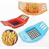 Vktech® Stainless French Fry Cutter Potato Vegetable Slicer