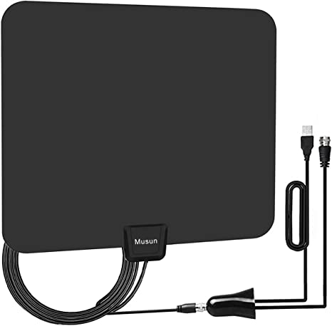 Amazon.com: Antena de TV HD amplificada digital 50-80 Mile ...
