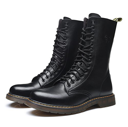 Unisex Stivali Lunghi Stivali Moda 45 Classici Stivaletti da Donna velluto Donna Stivali Martin Scarpe 37 Nero Taglie uBeauty g7qCYPP