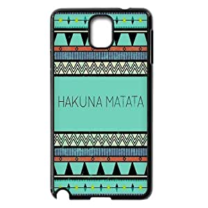 CHENGUOHONG Phone CaseThe Lion King,No Worries Hakuna Matata For Samsung Galaxy NOTE3 Case Cover -PATTERN-3
