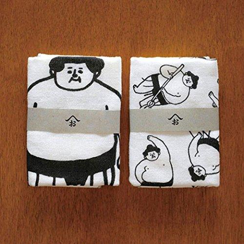 Ohagiyama The Sumo Wrestler by Saito, Mini Towel, Japan Import (B: Everyday Life)