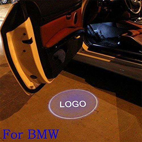 NO LOGO XFC-TYY, para BMW luz de Bienvenida 12 V 5 W proyector LED ...