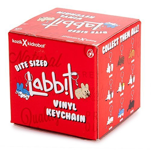 One Blind Box Bite Sized Labbit Keychain Vinly Figure for sale  Delivered anywhere in USA