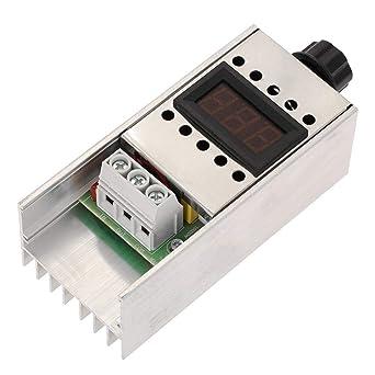 Regulador de voltaje AC 220V 4000W Regulador de velocidad del ...