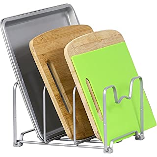 SimpleHouseware Kitchen Houseware Organizer Pantry Rack, Silver