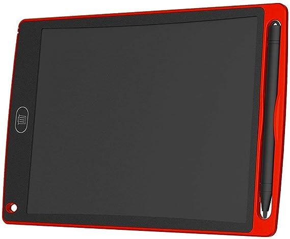 QinKingstore 8.5インチLCDライティングタブレット超高輝度電子ライティング落書きパッド描画ボードホームオフィススクールライティングボード赤
