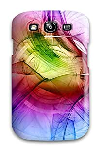 Premium Durable Abstract Fractal Fashion Tpu Galaxy S3 Protective Case Cover by supermalls