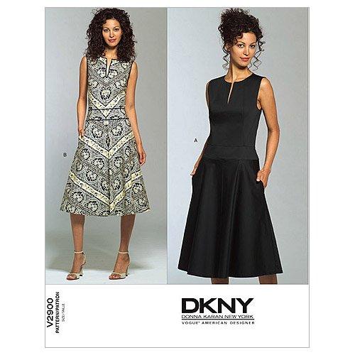 Vogue Patterns V2900 Misses'/Misses' Petite Dress, Size D (12-14-16)