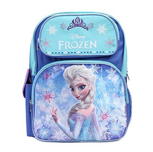 Disney Frozen Princess Elsa Sparkle Backpack, Large 16