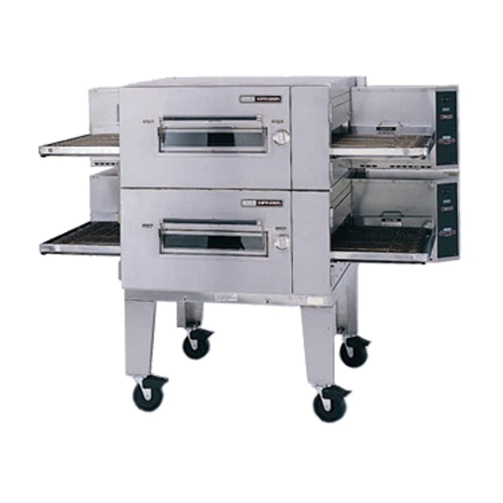 "Lincoln Impinger 1600-FB2G Lincoln Impinger Low Profile"" Conveyor Pizza Oven"