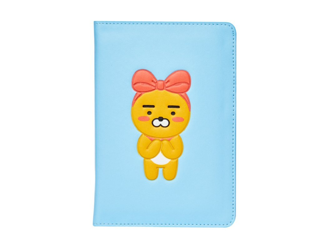 Kakao Friends Ryan Passport Cover Wallet Case