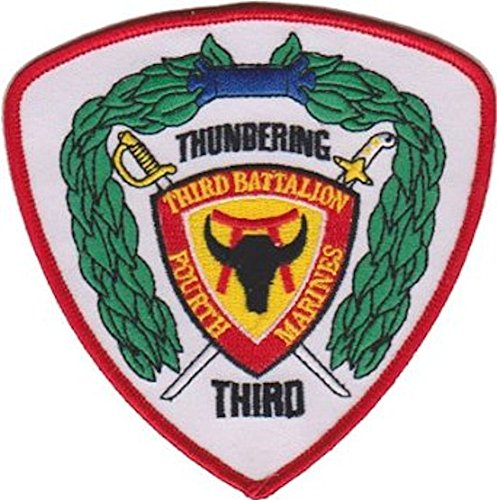 3rd Battalion 4th Marines USMC Patch ()