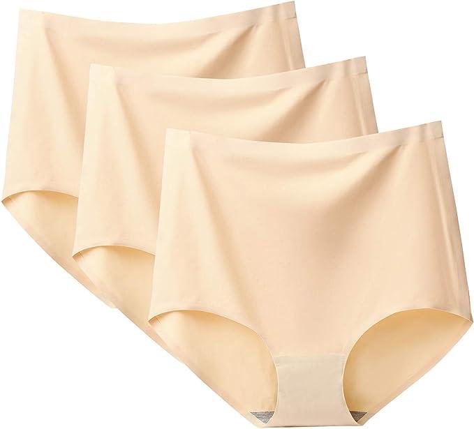 FEOYA - Braguitas para mujer, cintura alta, ropa interior de ...