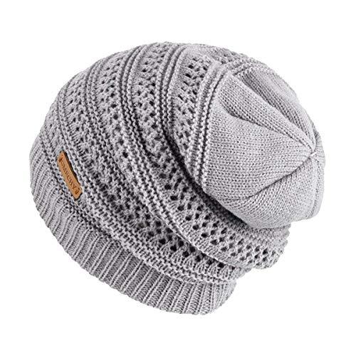 2b39bb8ff74 OMECHY Slouchy Beanie Hats Unisex Daily Knit Skull Cap Winter - Import It  All