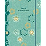 Perfect Timing Lang Wells Street Pinwheels 2016 Monthly Planner, January 2016 to March 2017, 8.25x12-Inch (7050006)