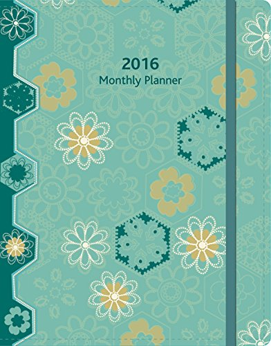 Wells Street by Lang  Pinwheels 2016 Monthly Planner, August 2015 – December 2016, 8.25 x 12 Inches (7050006)
