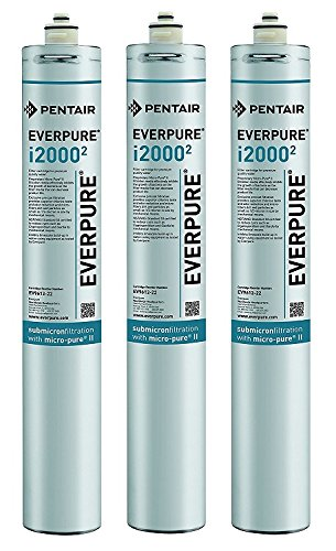 Everpure EV9612-22 i2000^2 Filter Cartridge (Pack of 3) by Everpure