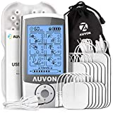 AUVON Rechargeable TENS Unit Muscle Stimulator, 3rd Gen16 Modes TENS Machine with Upgraded