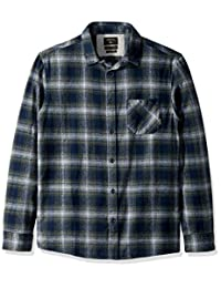 Quiksilver mens standard Fatherfly Flannel Shirt