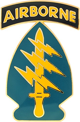 Special Forces with Airborne Tab CSIB - Combat Service Identification Badge