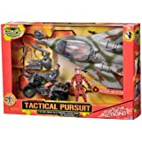 The Corps Tactical Pursuit Playset with Plane