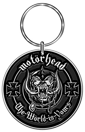 MOTORHEAD THE WORLD IS YOURS Keyring/ Schlüsselanhänger ...