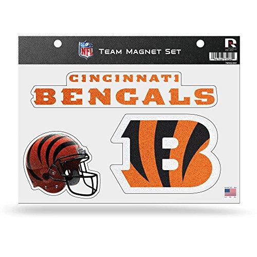 Acrylic Die Cut Magnet - Rico NFL Cincinnati Bengals Bling Team Magnet Set