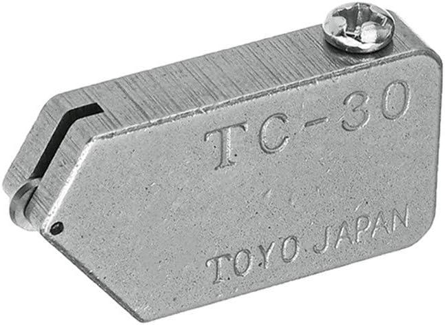 10 KingLan Remplacement Tc-17 Tc-30 Tc-90 T/ête Coupeur De Tuile De Coupe Droite en Verre Toyo