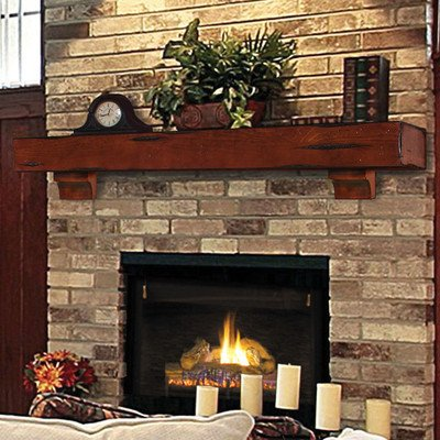 Cheap Pearl Mantels Shenandoah Traditional Fireplace Mantel Shelf