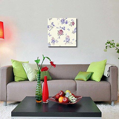 Beautiful Seamless Flower Pattern Retro Vintage Style Wall Decor