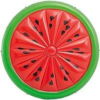 Intex Colchoneta hinchable con forma de sandía - 183 x 23 cm (56283)