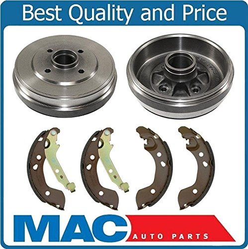Nissan Versa Brake Drum - New Drums & Rear Brake Shoes for Nissan Versa 2012-2015 With 1.6L Engine Only