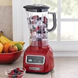 KitchenAid 5-Speed blender ksb650er 650 Series .9HP motor Stir, Chop, Mix, Puree, and Liquefy BPA-Free Shatter-Resistant Jar Empire Red