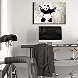 wall26--StickEm-Up-Banksy-Graffiti-Artwork--Canvas-Art-Wall-Decor--16x24
