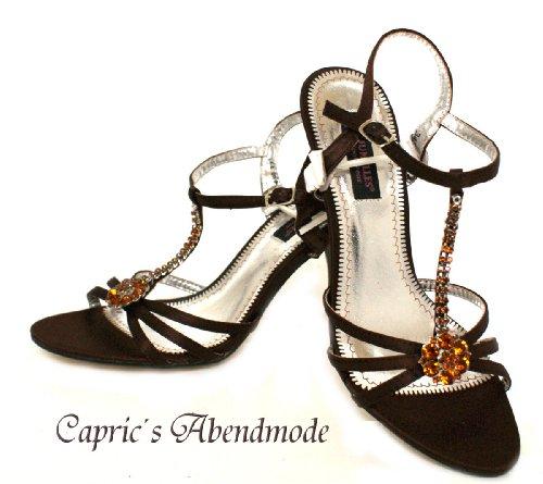 Donna marrone Caviglia Cinturino Scarpe Marrone fashion Young Alla Con 8nqpYx4T