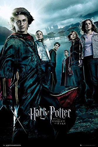 Click for larger image of Harry Potter And The Goblet Of Fire - Movie Poster / Print (Regular Style) (Size: 24' x 36') (By POSTER STOP ONLINE)