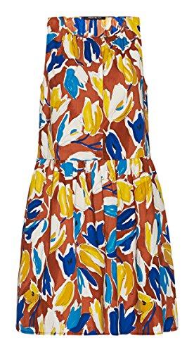 Pennyblack Malaga, Vestido para Mujer Multicolor (fantasia marrone)