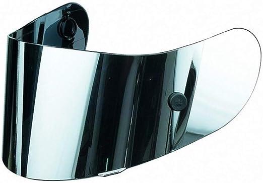 AGV GP-TECH//T-2 FACE SHIELD//VISOR SILVER MIRROR ANTI-SCRATCH w//TEAR OFF POSTS